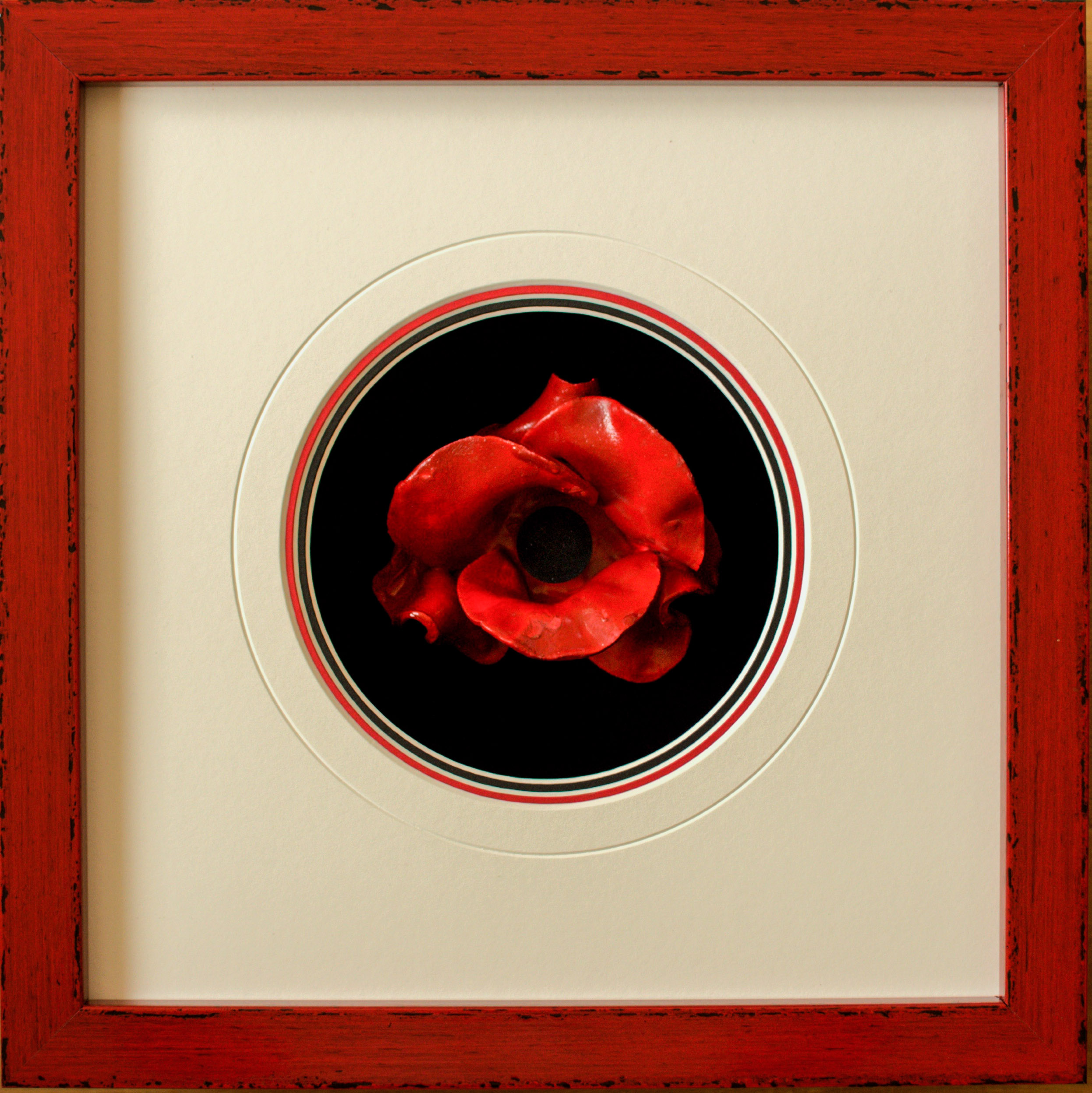 Tower of London Poppy | Lovingly Framed by bespoke framer, Jules Sainter