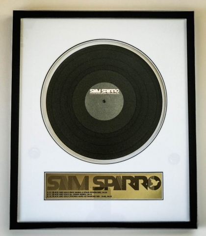 Vinyl Record | Framed by Jules Sainter at Lovingly Framed