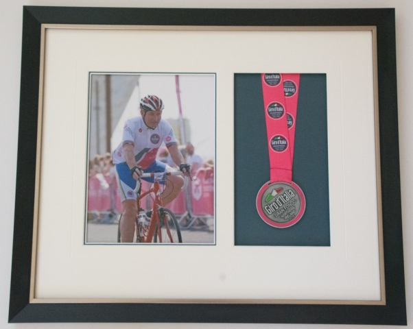 Cycling Success | Lovingly Framed by Jules Sainter (lovinglyframed.co.uk)