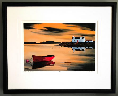 Art by Anthony Barbour | Framed by Jules Sainter at Lovingly Framed