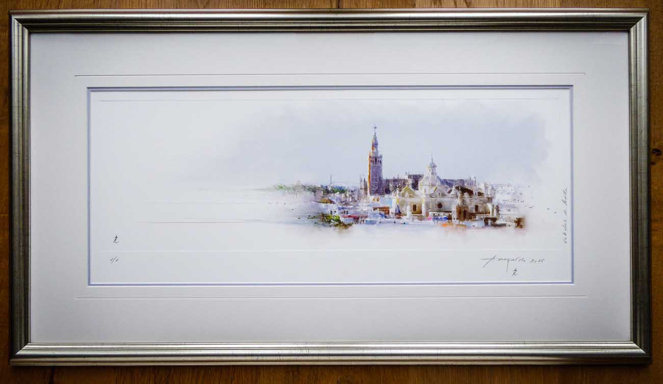 Seville Multi Media Picture | Lovingly Framed by Jules Sainter