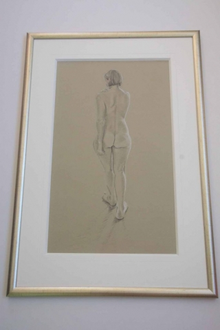 Beautiful Nude | Lovingly Framed by Jules Sainter