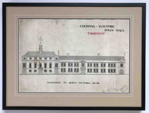 Wycombe Town Hall | Lovingly Framed by Jules Sainter (lovinglyframed.co.uk)