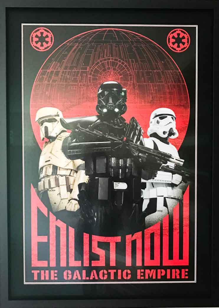 May The Frame be with you! | Lovingly Framed by Jules Sainter (lovinglyframed.co.uk)