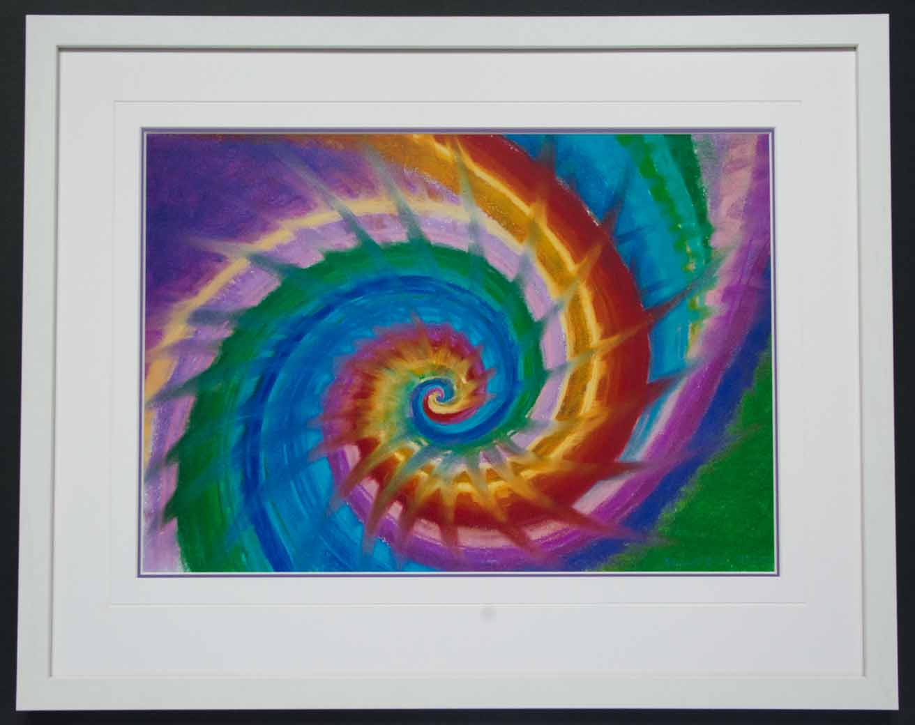 Rainbow by Eva Maria Hunt | Framed by Jules Sainter