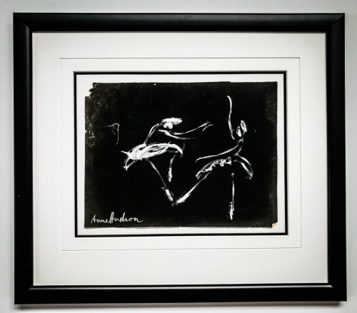 Finger Painting | Framed by Jules Sainter at Lovingly Framed