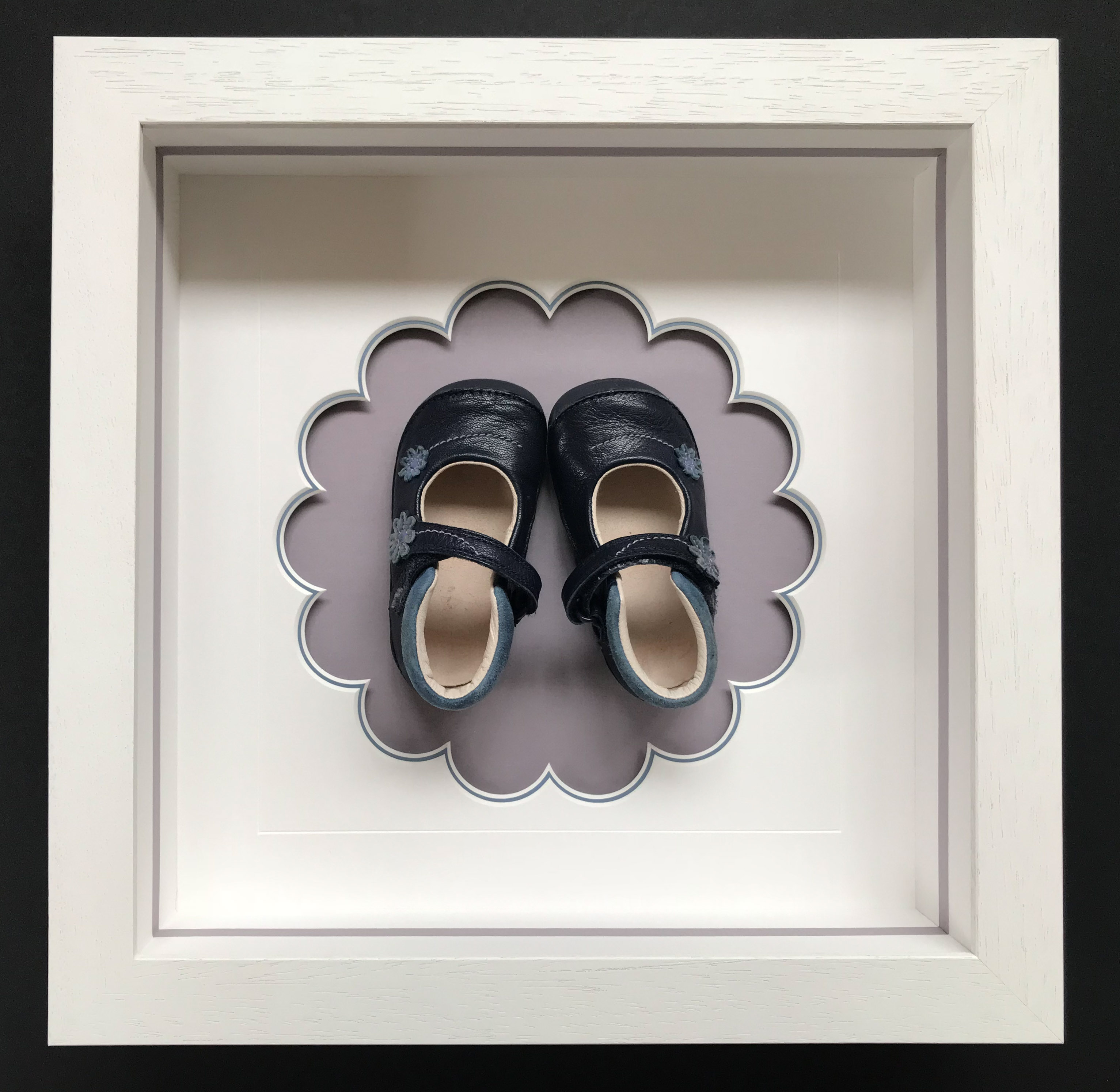 Baby's first shoes | Framed by Lovingly Framed