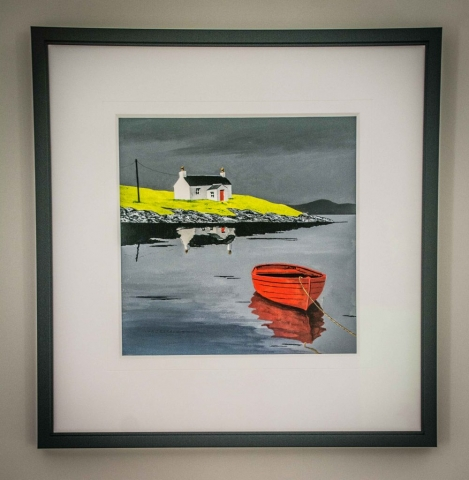 Anthony Barber original | Framed by Jules Sainter