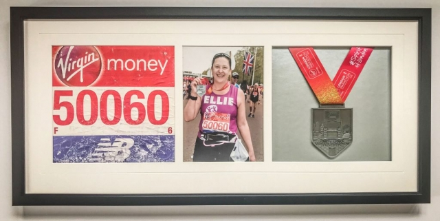 London Marathon Memorabilia | Framed by Jules Sainter of Lovingly Framed
