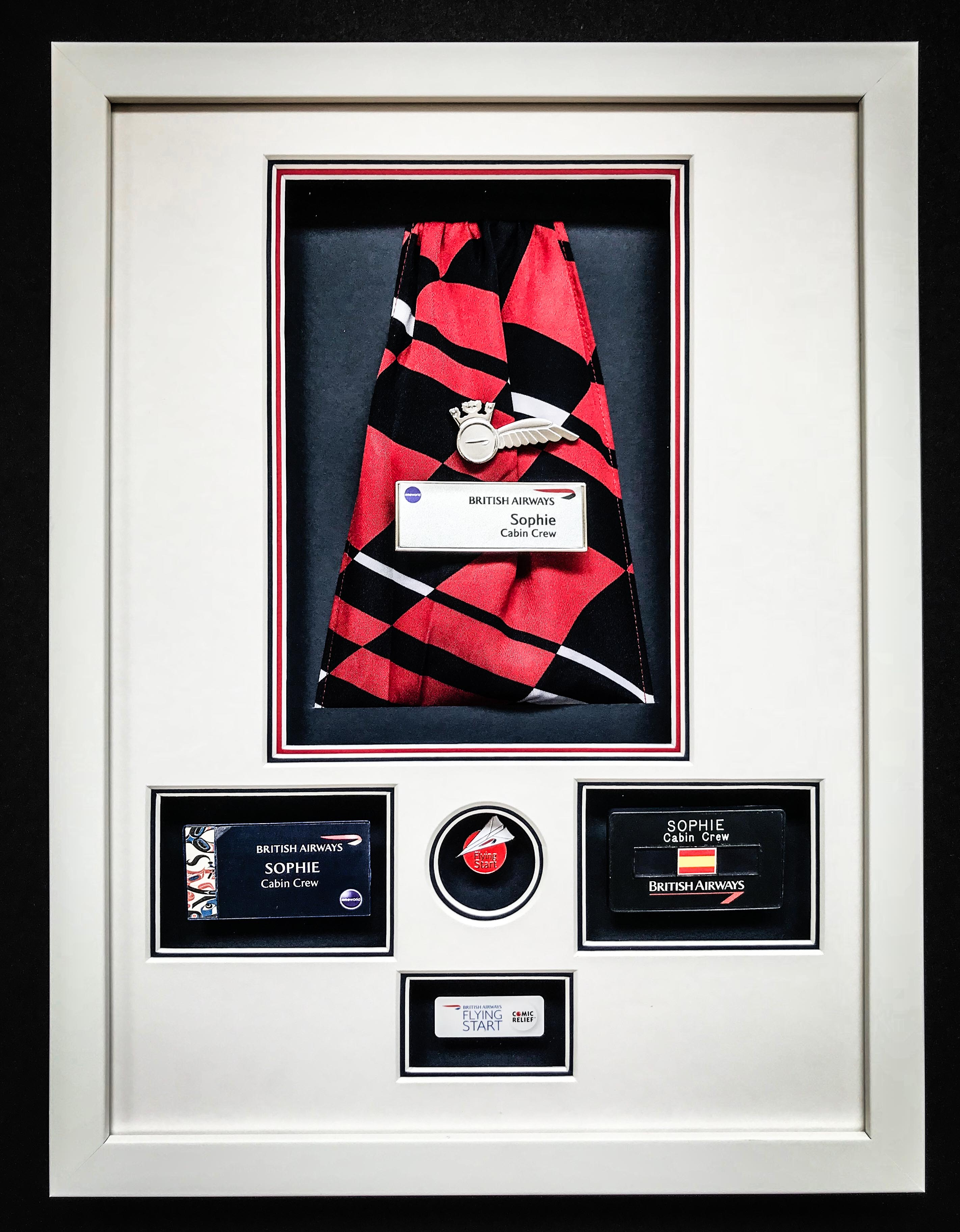 BA Memorabilia | Framed by Jules Sainter of Lovingly Framed