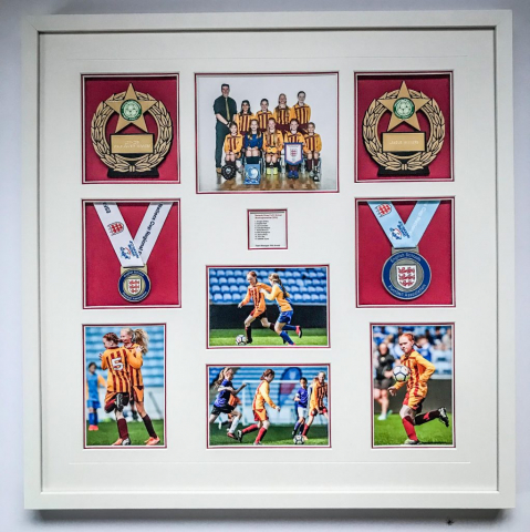 Football Memorabilia | Framed by Jules Sainter of Lovingly Framed