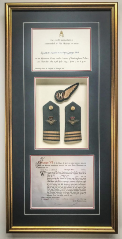 Airforce Memorabilia | Framed by Jules Sainter of Lovingly Framed