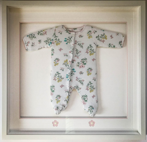 Baby's First Babygrow | Framed by Jules Sainter of Lovingly Framed