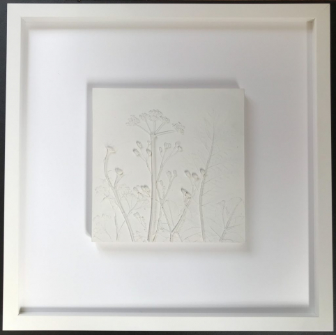 Ceramic tile | Framed by Jules Sainter of Lovingly Framed