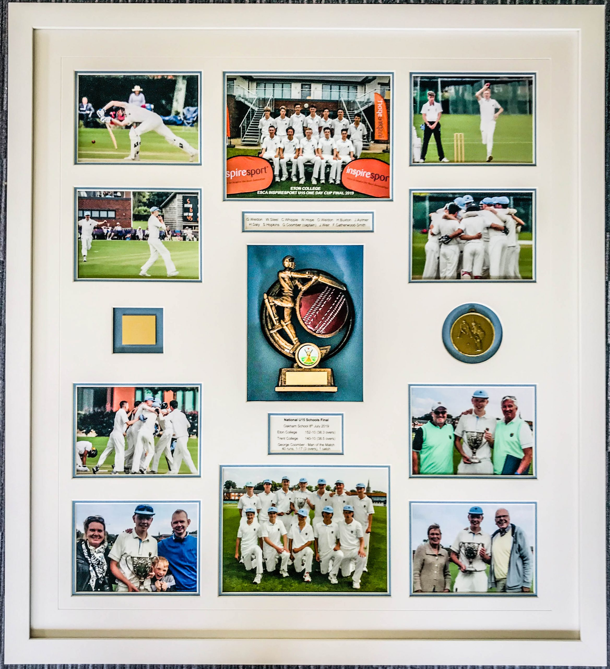 Cricket Montage | Lovingly Framed by Jules Sainter