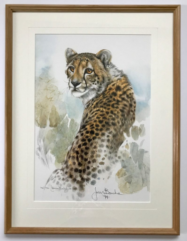 Joan Beuche limited edition | Framed by Jules Sainterof Lovingly Framed